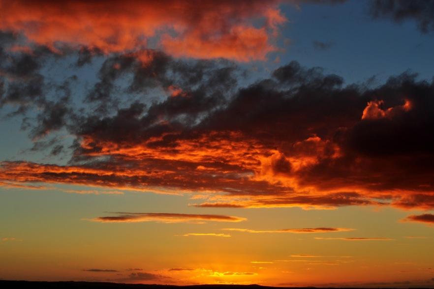 Sunset at Dog Rocks. PHOTO Lance Youston